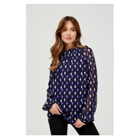Geometric print shirt Moodo