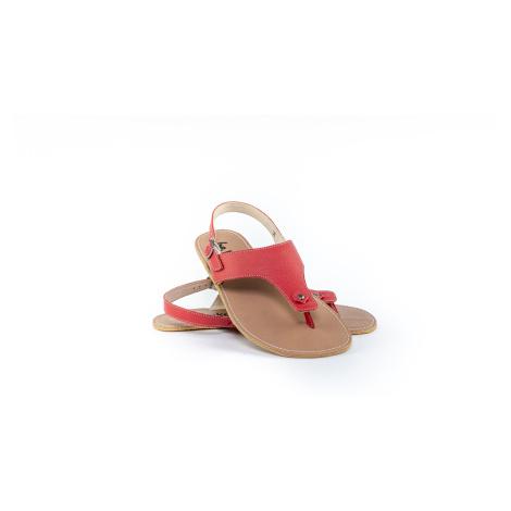 Barefoot sandále Be Lenka Promenade - Red 43