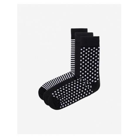 Jack & Jones Organic Ponožky 3 páry Čierna