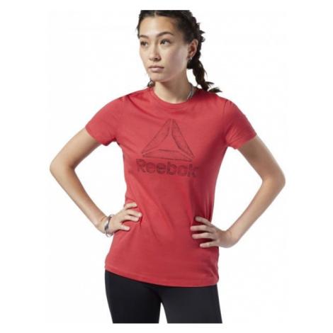 Reebok OPP DELTA červená - Dámske tričko