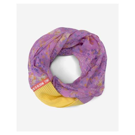 Šatky, šály pre ženy Tom Tailor - žltá, fialová