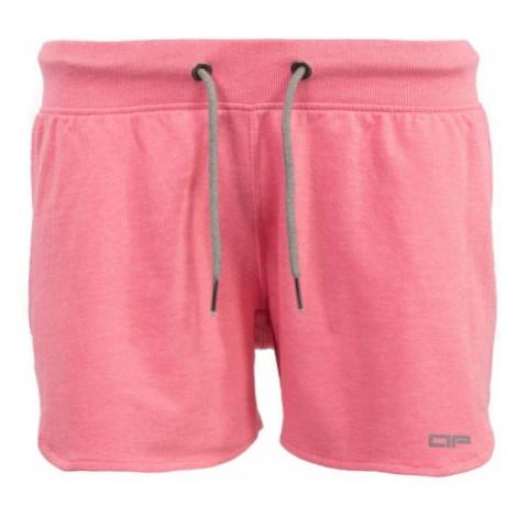 ALPINE PRO ASTARA 2 ružová - Dámske šortky