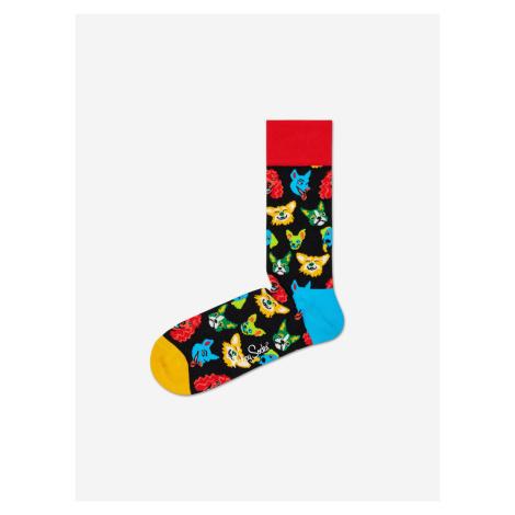 Funny Dog Ponožky Happy Socks Čierna