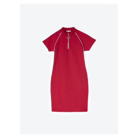 GATE Puzdrové šaty so zipsom