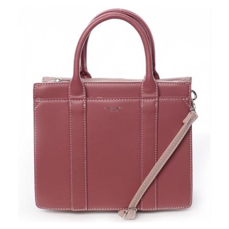 Dámska kabelka David Jones Viola - ružová