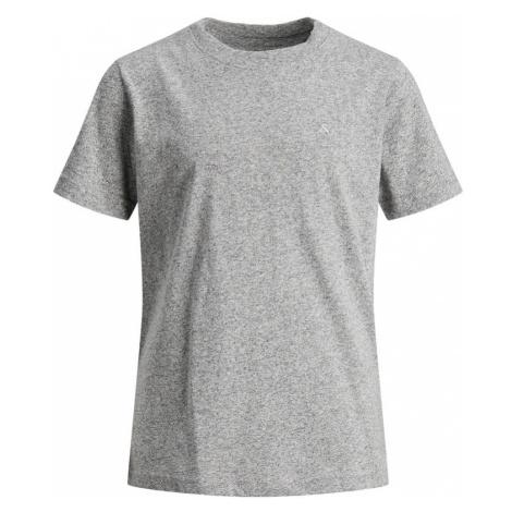 Jack & Jones Junior Tričko  sivá