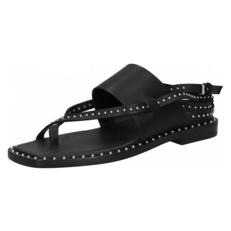 ASH Sandále 'Medusa'  čierna