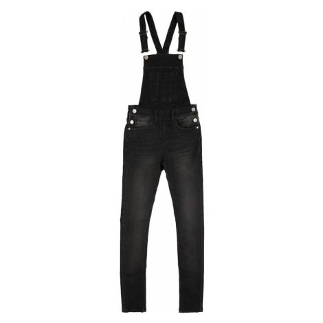 Cars Jeans Nohavice na traky  čierna