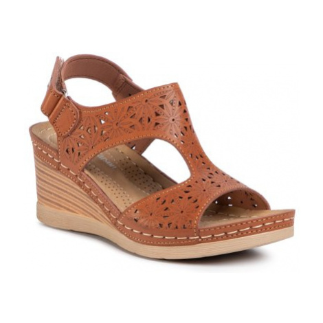 Sandále Clara Barson 5903419299728 koža ekologická