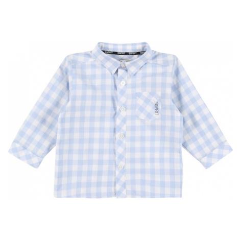 ESPRIT Košeľa  pastelovo modrá / biela / čierna
