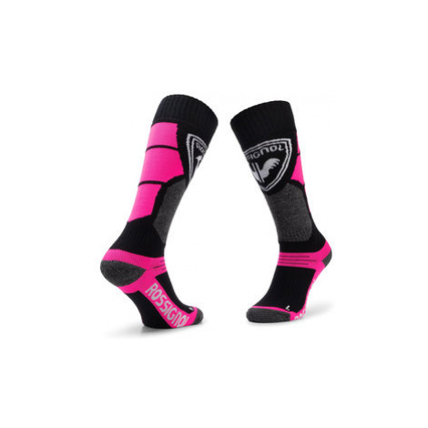Rossignol Vysoké detské ponožky L3 Jr Premium Wool RLIYX01 Čierna