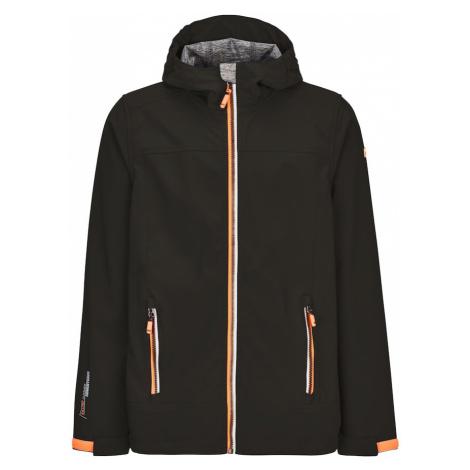 KILLTEC Outdoorová bunda 'Adjero'  čierna / marhuľová