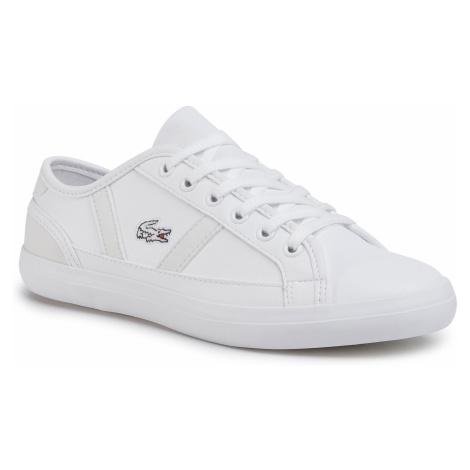 Sneakersy LACOSTE - Sideline 120 2 Cuj 7-39CUJ002065T Wht/Off Wht