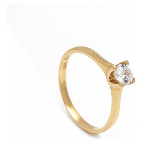 Zlatý zásnubný prsteň GENEVRA