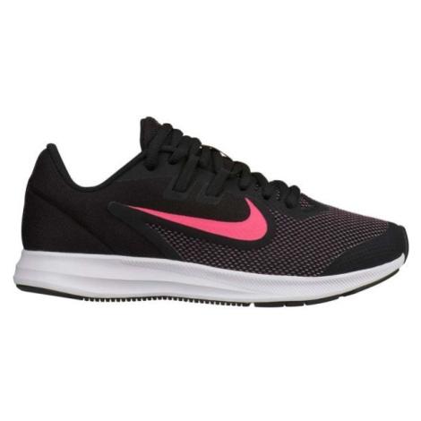 Nike DOWNSHIFTER 9 GS biela - Detská bežecká obuv