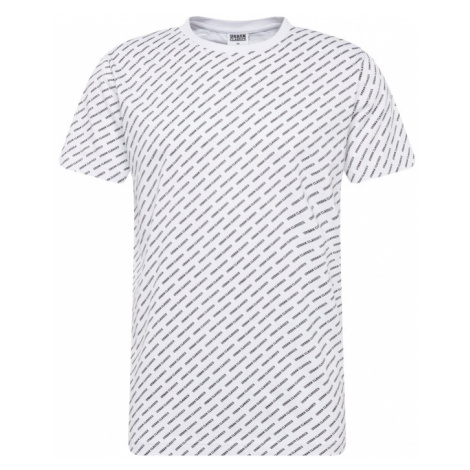 Urban Classics Tričko  čierna / biela