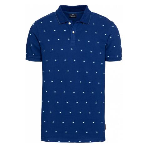 SCOTCH & SODA Tričko  modrá / biela / svetlomodrá
