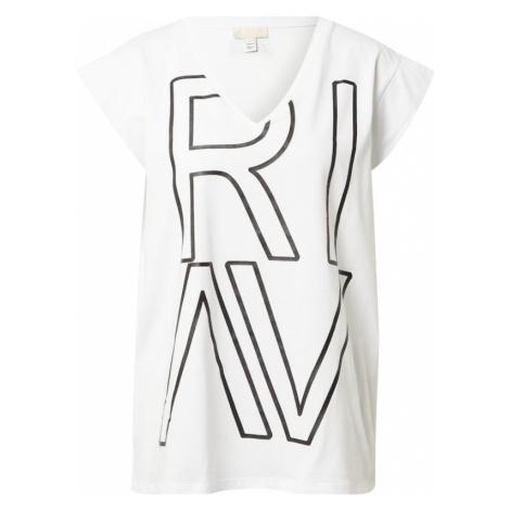 River Island Tričko  biela / čierna