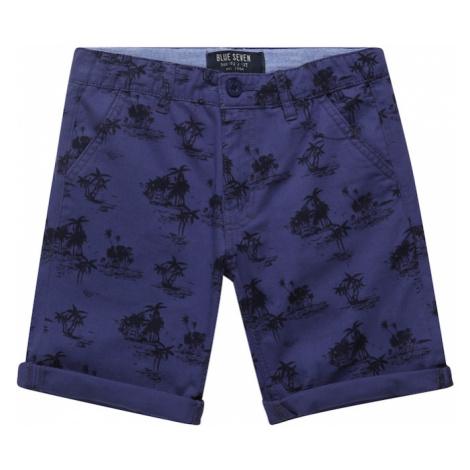 BLUE SEVEN Nohavice  modrá denim / tmavomodrá