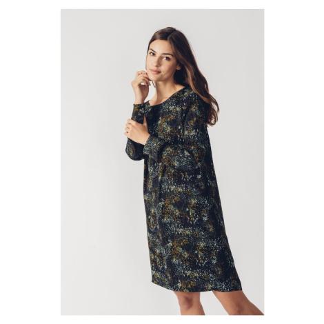SKFK voľné vzorované šaty Aura