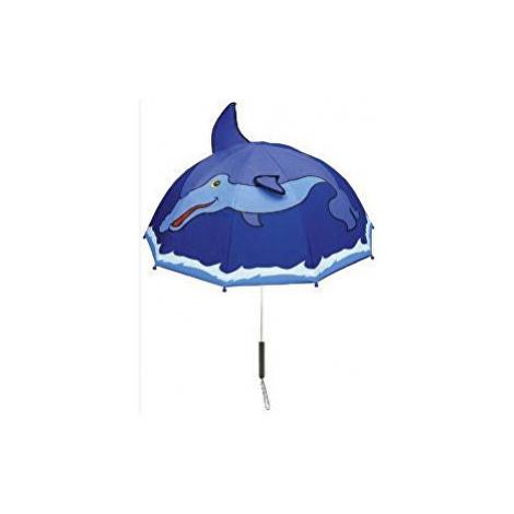 Blooming Brollies Detský palicový dáždnik Kido rable Doplhin U0100DOL