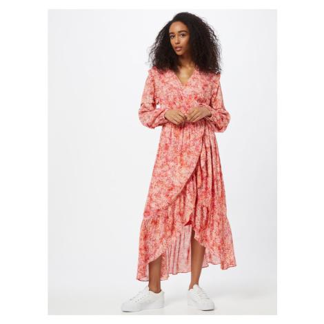 Suncoo Šaty 'CANDELA'  hrdzavo červená / ružová / prírodná biela