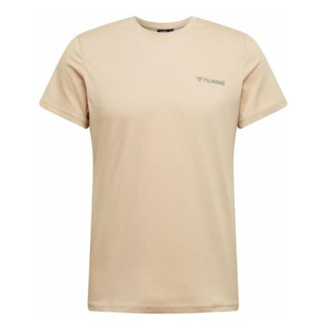 Hummel Funkčné tričko 'Toronto'  biela / kaki / svetlohnedá