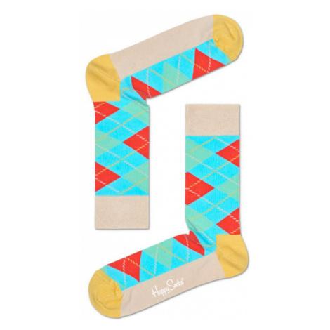 Happy Socks Argyle-M-L (41-46) tyrkysové ARY01-1000-M-L (41-46)