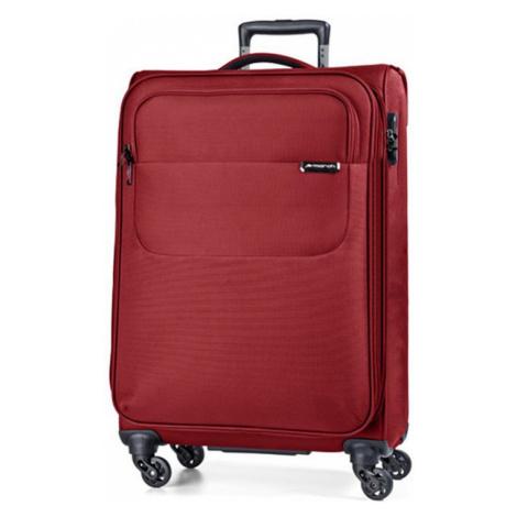 March Kabínový kufor Carter SE S 40 l - červená