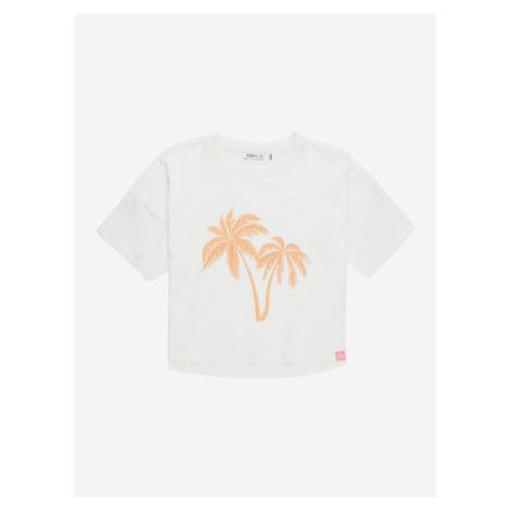 Tričko O'Neill Lg Palm T-Shirt Biela