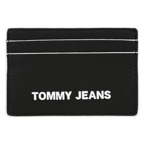 Tommy Jeans Puzdro  čierna / biela Tommy Hilfiger