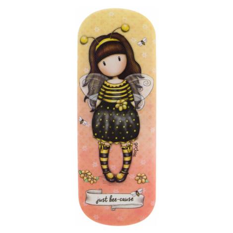 Santoro žlté puzdro na okuliare Gorjuss Bee-Loved (Just Bee-Cause) Santoro London