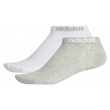 Adidas Q3 Basic 2Pp Ped Socks biela