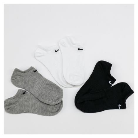 Nike U NK Everyday LTWT NS 3 Pack biele / čierne / melange šedé