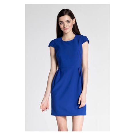 Modré šaty ASU0028 Ambigante