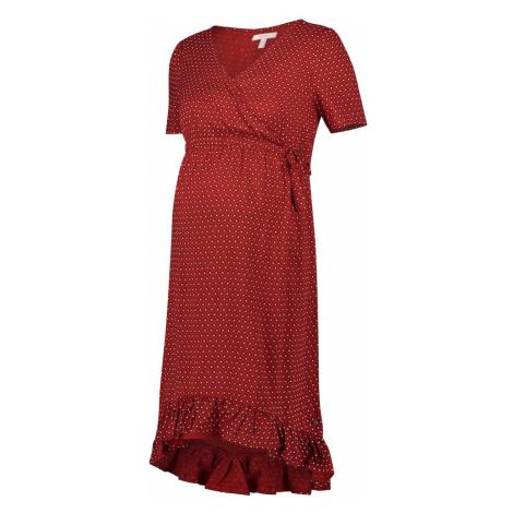 Esprit Maternity Letné šaty  červená