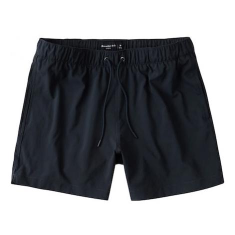 Abercrombie & Fitch Plavecké šortky  námornícka modrá