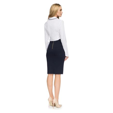 Stylove Woman's Skirt S009 Navy Blue