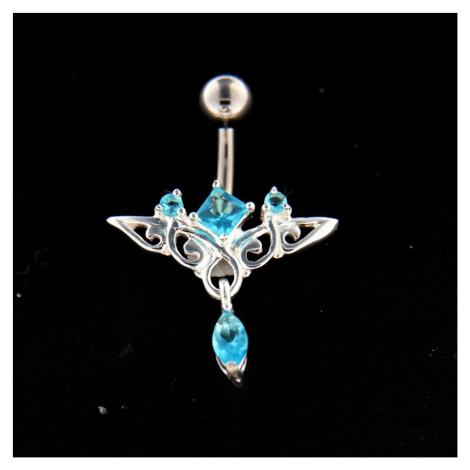 Strieborný piercing 14515