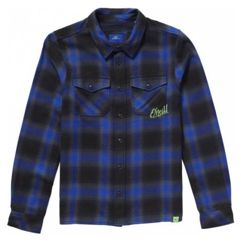 O'Neill LB VIOLATOR FLANNEL SHIRT tmavo modrá - Detská košeľa