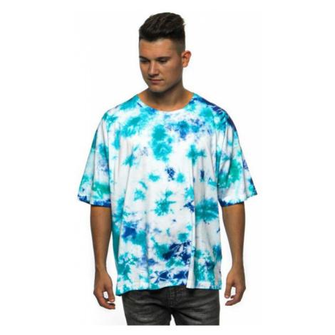 Cayler & Sons CSBL Meaning Of Life Tie Dye Box Tee white/blue - Veľkosť:L