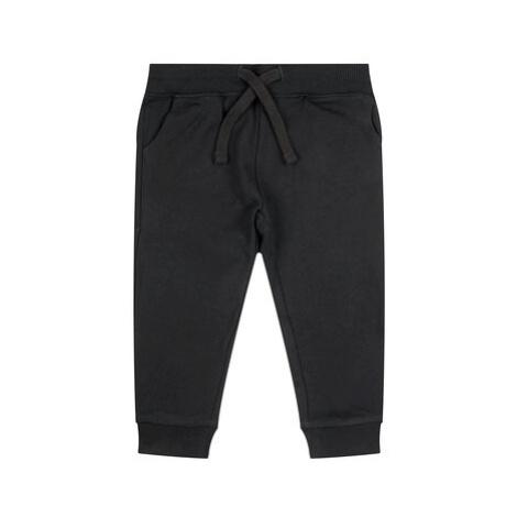 Guess Teplákové nohavice Core N93Q17 K5WK0 Čierna Regular Fit