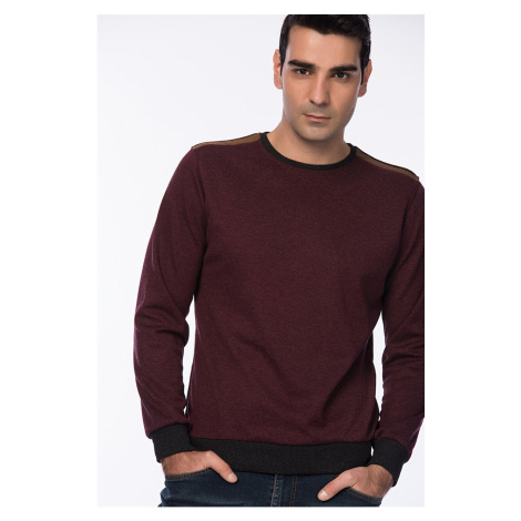 1014 DEWBERRY MEN's SWEATSHIRT-BURGUNDY