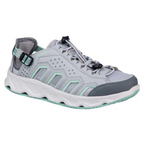 ALPINE PRO DODA šedá - Dámska letná obuv