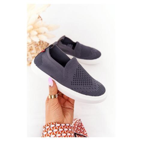 Children's Slip-On Sneakers Big Star HH374104 Grey