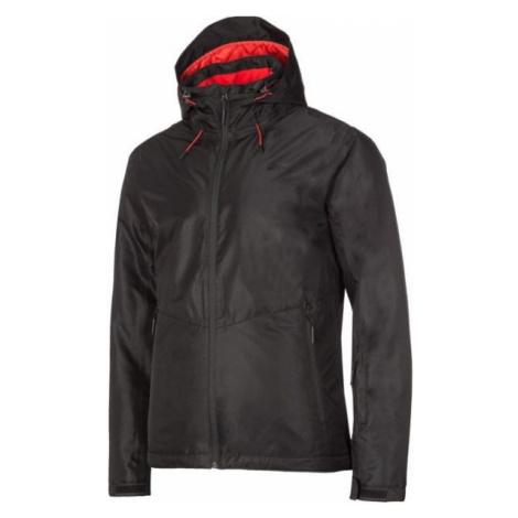 4F MEN´S SKI JACKET čierna - Pánska lyžiarska bunda