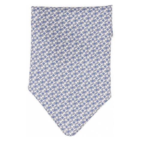 JOOP! Ozdobná vreckovka  modrá / biela