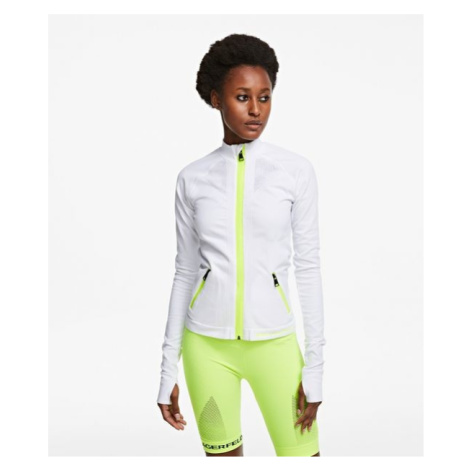 Mikina Karl Lagerfeld Seamless Zip Up Sweatshirt