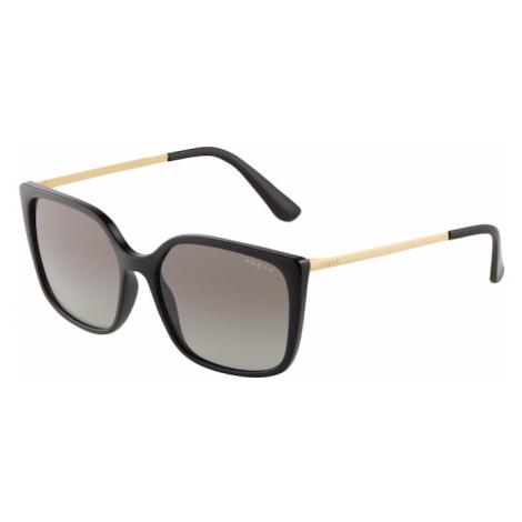 VOGUE Eyewear Slnečné okuliare '0VO5353S'  čierna / zlatá