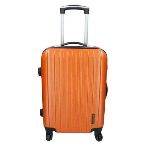 Palubný cestovný kufor Madisson Bilbao - oranžová